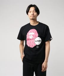 VALENTINE CHOCOLATE LOVE APE HEAD TEE M(Tシャツ/カットソー)