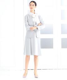 NARACAMICIE(ナラカミーチェ)の《セットアップスーツ対応》ナチュラルストレッチフレアスカート(スカート)