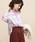 ROPE' mademoiselle(ロペマドモアゼル)の「【ドラマ着用】【2WAY】リトアニアリネンオーバーシャツ(シャツ/ブラウス)」 ピンク