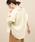 ROPE' mademoiselle(ロペマドモアゼル)の「【ドラマ着用】【2WAY】リトアニアリネンオーバーシャツ(シャツ/ブラウス)」 イエロー