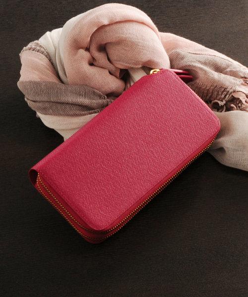 公式の  フランス製レザー長財布(財布)|HALEINE(アレンヌ)のファッション通販, エフツール:4c8dbab1 --- fahrservice-fischer.de