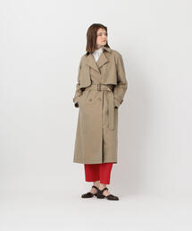 <Steven Alan>COTTON GABARDINE TRENCH COAT/トレンチコート