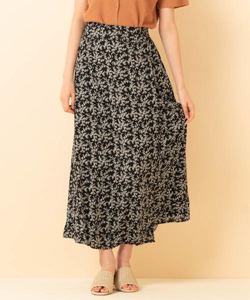 マーメイドラップスカート