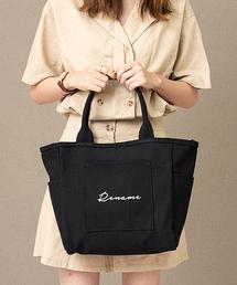 Rename 帆布 トートバッグ (ペットボトルクーラー装備)ブラック