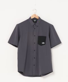 ストレッチポケットシャツ  4wayストレッチ素材を使用 ボタンダウン