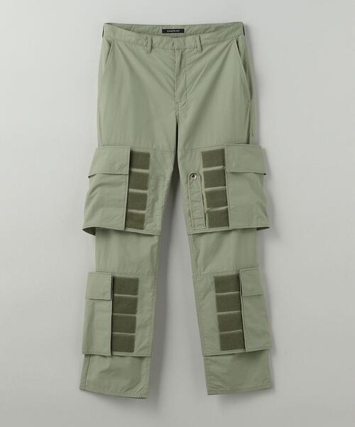 ALMOSTBLACK(オールモストブラック)MILITARY PANTS