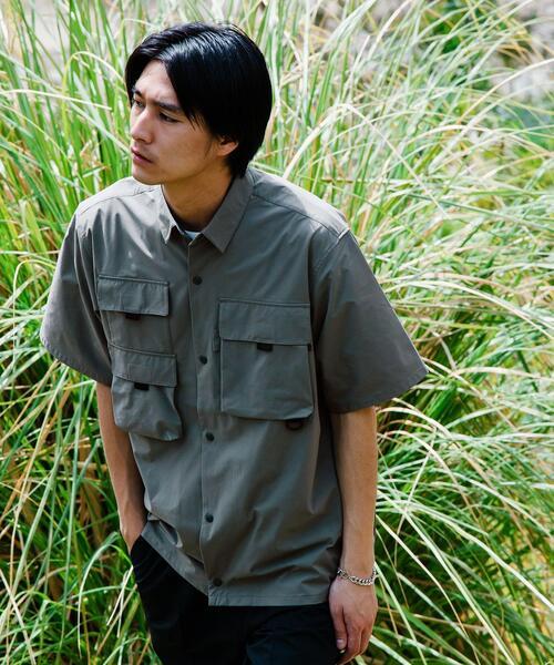 別注 [ ダイワ ] DAIWA × GLR フィッシング 半袖 シャツ
