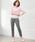 Pierrot(ピエロ)の「360°美脚見えストレートテーパードパンツ センタープレス(パンツ)」|詳細画像