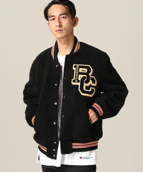 White Ville/ホワイツビル: Custom Boa Stadium Jacket#