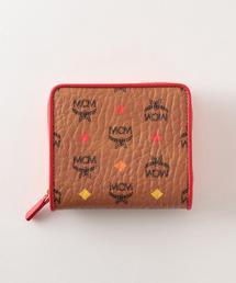 【MCM】ラウンドジップ二つ折り財布 MYS9SSV66(財布)
