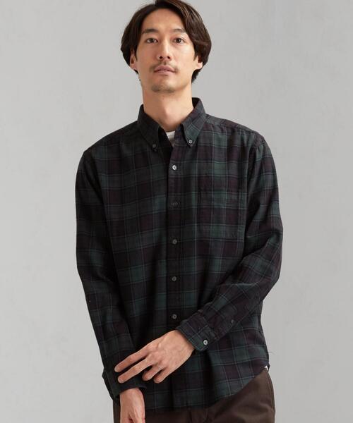 MC G/DYE ビエラチェック ボタンダウン シャツ