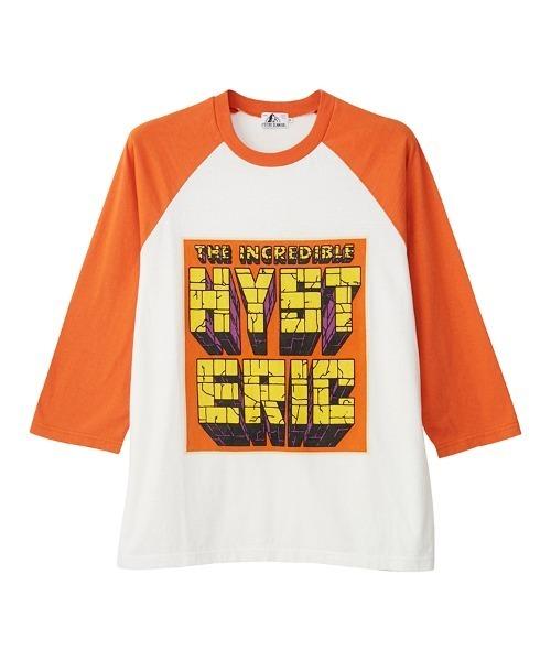 HERO COMICS 7分袖Tシャツ
