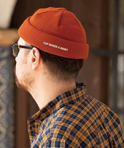 mko9723- SKATE SHORT WATCH CAP ニット帽