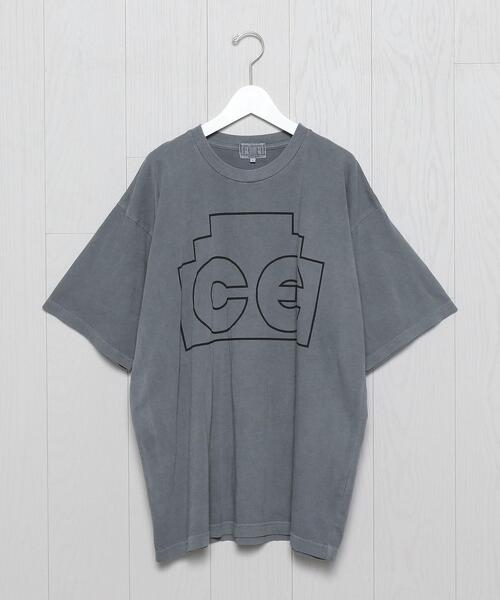 <C.E>ZIGGURAT BIG T-SHIRT/Tシャツ.