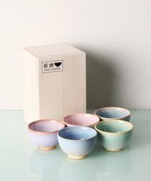 Afternoon Tea(アフタヌーンティー)の萩焼豆椀5客セット(グラス/マグカップ/タンブラー)