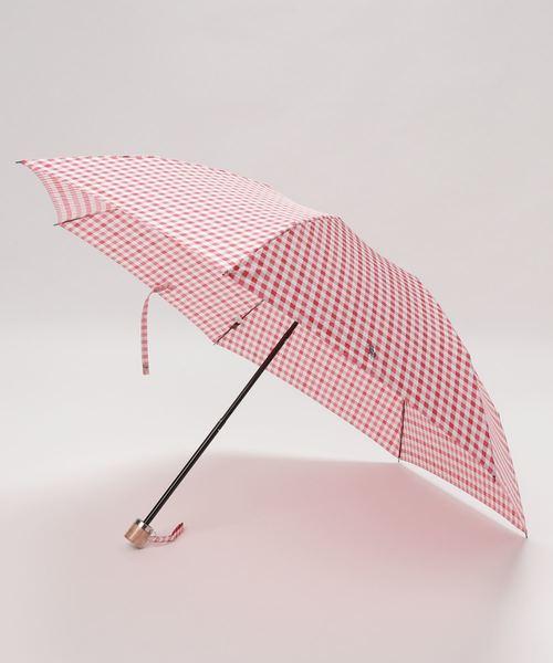折りたたみ傘 【ギンガムチェック】