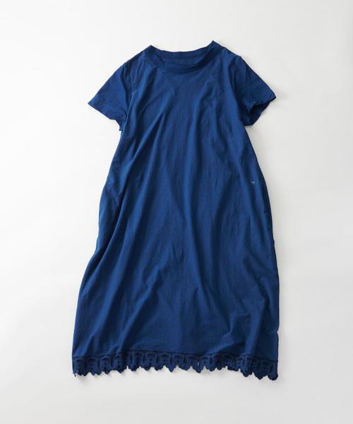 海外ブランド  天竺スピンクルのドレス(インディゴ), ハナマキシ a984b3e8
