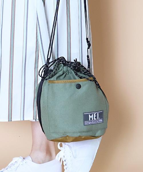 【 MEI / メイ 】COTNA DRAW BAG 巾着バッグ