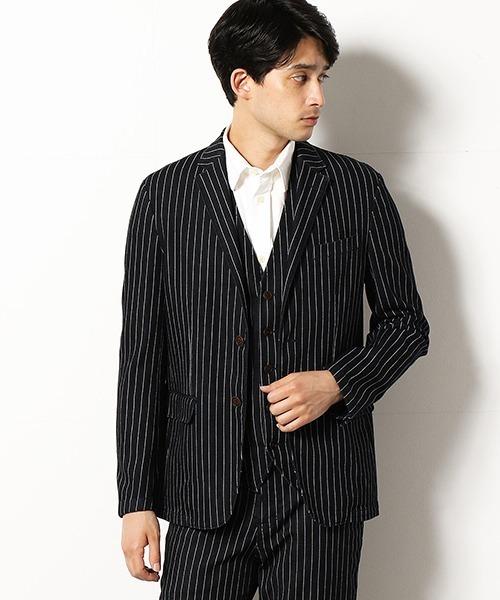 【セットアップ対応】  デニム テーラードジャケット