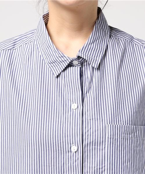 ビッグハーフスリーブシャツ