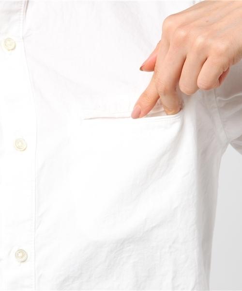 高密度ダンプレギュラーシャツ