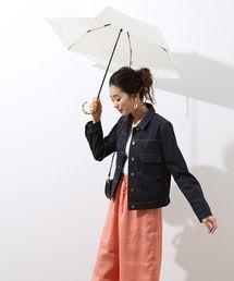 ROPE'(ロペ)の【WEB限定】折りたたみバンブーアンブレラ(折りたたみ傘)