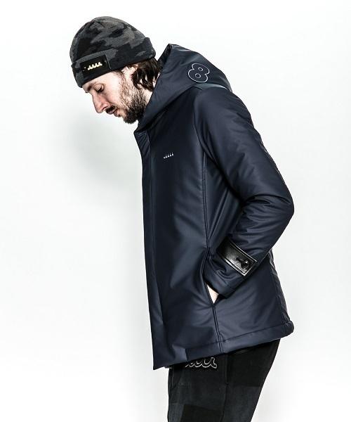 ACANTHUS×muta rain coating wrap coat
