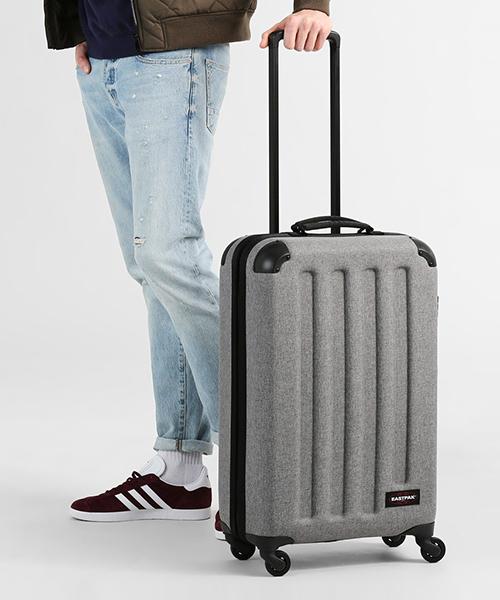 EASTPAK(イーストパック )の「TRANZSHELL M CORE COLORS キャリーバッグ(スーツケース/キャリーバッグ)」 グレー