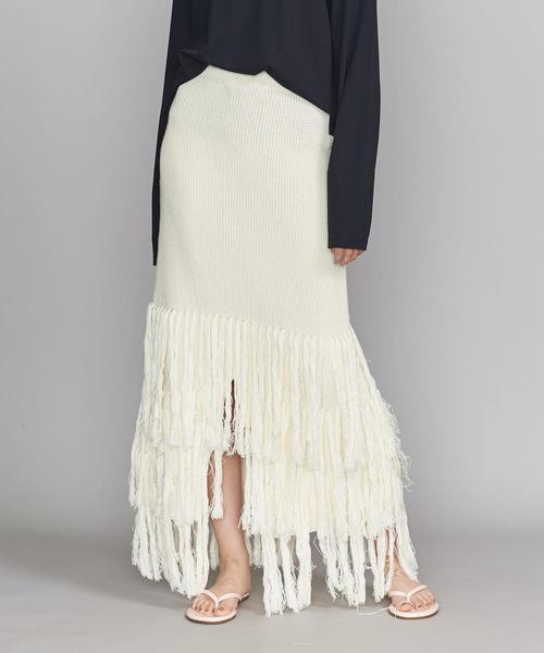 新しい到着 UNITED<MLM>フリンジスカート(スカート)|Lepidos(レピドス)のファッション通販, カホクチョウ:91d74822 --- bit4mation.de