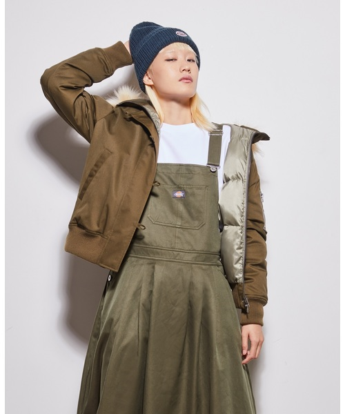 世界有名な 【レディース】リムーバブルフェイクファーショートダウンジャケット(ダウンジャケット/コート)|Dickies(ディッキーズ)のファッション通販, 着物道楽みなとや:47d63524 --- teamab.de