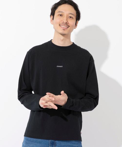 コーエンロゴ刺繍ロングスリーブTシャツ