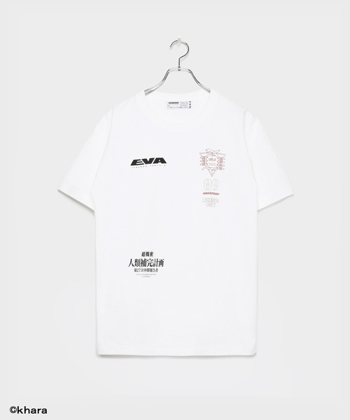 LEGENDA(レジェンダ)の「EVANGELION collaboration with LEGENDA ZEELE T-shirt(Tシャツ/カットソー)」 ホワイト