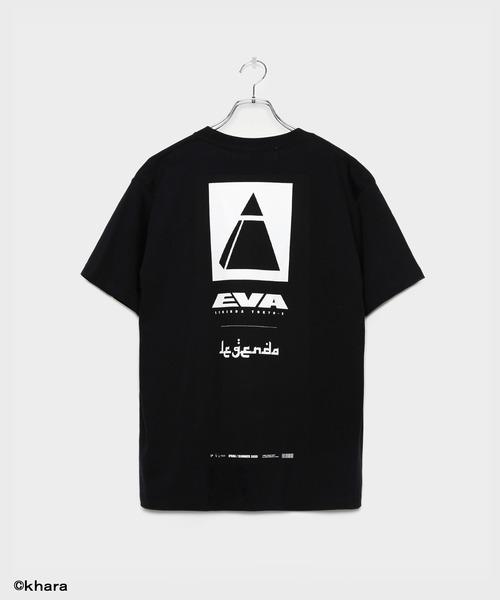 LEGENDA(レジェンダ)の「EVANGELION collaboration with LEGENDA ZEELE T-shirt(Tシャツ/カットソー)」 ブラック