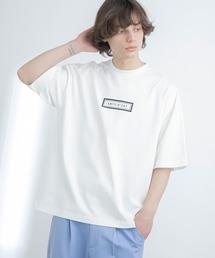 シルケットライク天竺 オーバーサイズ S/S メッセージプリント カットソー EMMA CLOTHES 2021SS COLLECTION - INVERSION(反転) × HIDE AND SEEK(かくれんぼ) -ホワイト系その他2