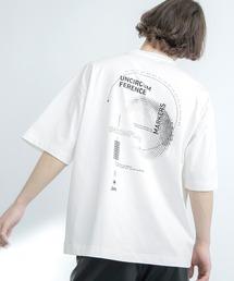 シルケットライク天竺 オーバーサイズ S/S メッセージプリント カットソー EMMA CLOTHES 2021SS COLLECTION - INVERSION(反転) × HIDE AND SEEK(かくれんぼ) -ホワイト系その他3
