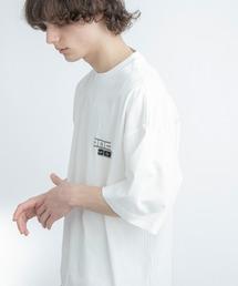 シルケットライク天竺 オーバーサイズ S/S メッセージプリント カットソー EMMA CLOTHES 2021SS COLLECTION - INVERSION(反転) × HIDE AND SEEK(かくれんぼ) -ホワイト系その他4