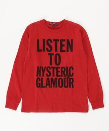 LISTEN TO HG Tシャツレッド