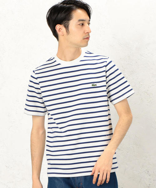 [ラコステ] BC LACOSTE H/カノコBORTH218 Tシャツ