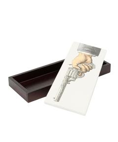 "Fornasetti Profumi / INC80-PT INCENSE BOX ""Pistol"""