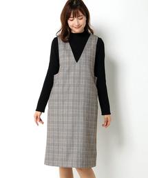 ikka(イッカ)のIラインジャンスカ(ジャンパースカート)