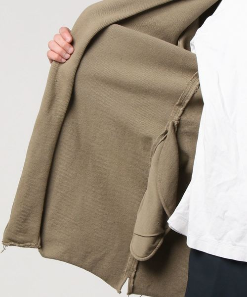 【bukht】 10//// COTTON ROUND NECK COAT