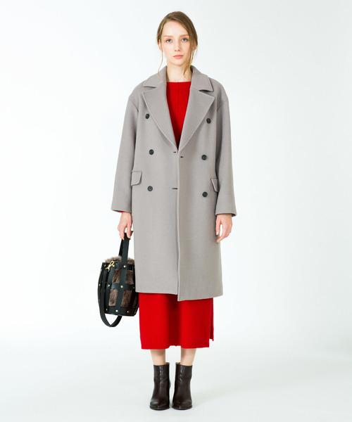 新品即決 MANTECO二重織ダブルブレストコート(ピーコート)|allureville(アルアバイル)のファッション通販, アンティークハウス ペルラ:136f8798 --- kredo24.ru