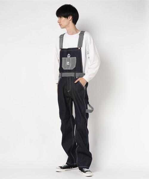 ふるさと納税 PANDIESTA JAPAN slow/パンディエスタジャパン 熊猫謹製 切替2WAYオーバーオール 熊猫謹製 MEN