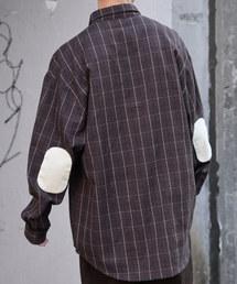 kutir(クティール)のエルボーパッチルーズシャツ(シャツ/ブラウス)