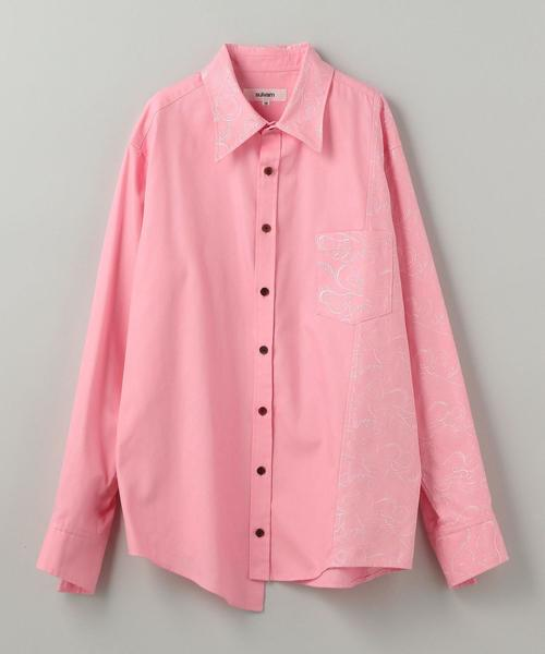 sulvam(サルバム)OX EMBRO SHIRT