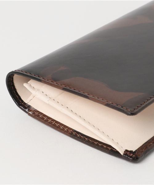 カモフラレザー長札財布