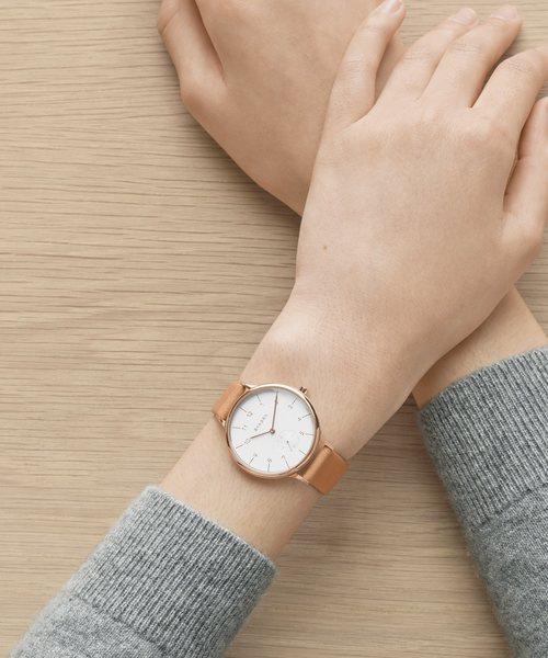 SKAGEN(スカーゲン)の「ANITA SKW2405(腕時計)」 ライトブラウン