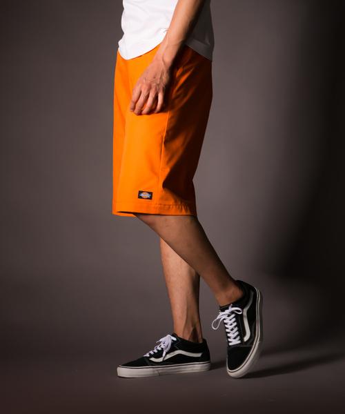 Dickies(ディッキーズ)の「FES42283ワークショーツ(パンツ)」 オレンジ