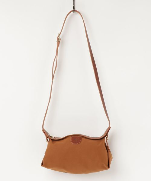 IL BISONTE / CANVAS x LEATHER / SHOULDER BAG