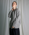 my beautiful landlet | 【my beautiful landlet】 JP pile nocollar blouson(ブルゾン)